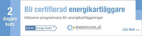 Utbildning Energikartläggare